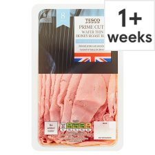 Tesco British Wafer Thin Honey Roast Ham 125G