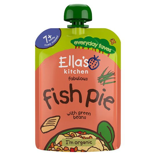 Ella's Squashed Fishy Cakes Herby Sauce 130G