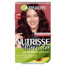 Garnier Nutrisse 2.6 Ultra Dark Cherry Red Permanent Hair Dye