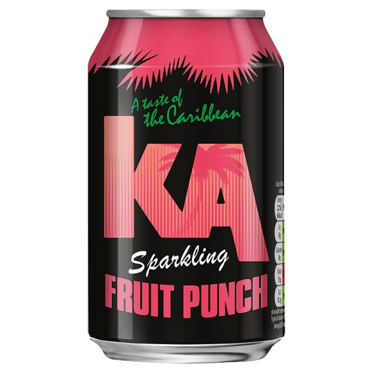 Ka Sparkling Fruit Punch 330Ml Can