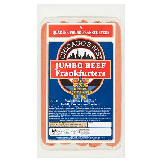 Gilberts Chicago Best Frankfurter 565G