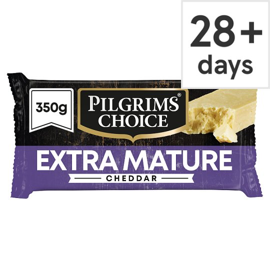 Pilgrims Choice Extra Mature Cheddar Cheese 350 G