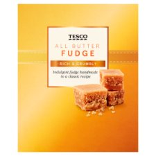 Tesco All Butter Fudge Box 150G