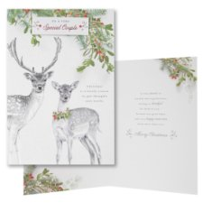 Hallmark Christmas Card To A Very Special Couple