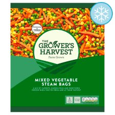 Grower's Harvest Mixed Vegetable Steam Bags 4X160g