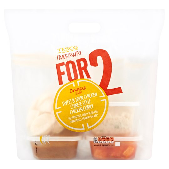 Tesco Takeaway Meal For 2 Chinese 1.40Kg