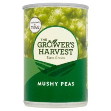Growers Harvest British Mushy Peas 300G