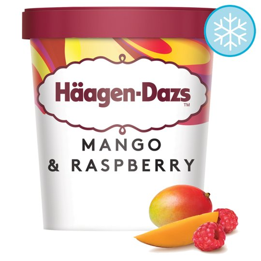 image 1 of Haagen-Dazs Mango And Raspberry Ice Cream 460Ml