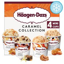 Haagen-Dazs Caramel Mini Cups 4 X 95Ml