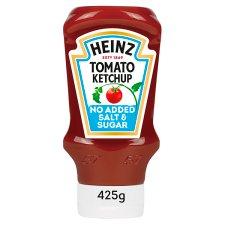 Heinz Tomato Ketchup No Added Sugar And Salt 400Ml
