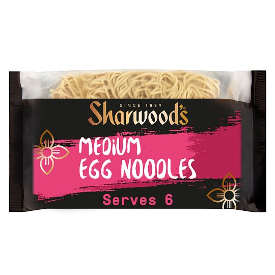 Sharwoods Medium Egg Noodles 340G