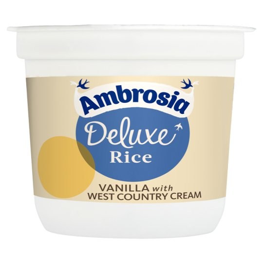 Ambrosia Deluxe Rice West Country Cream 110G