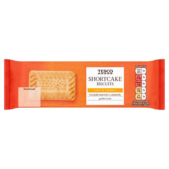 Tesco Shortcake Biscuits 200G