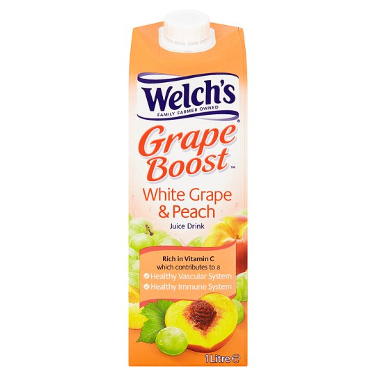 Welch's White Grape And Peach Juice Drink 1 Litre - Groceries - Tesco ...