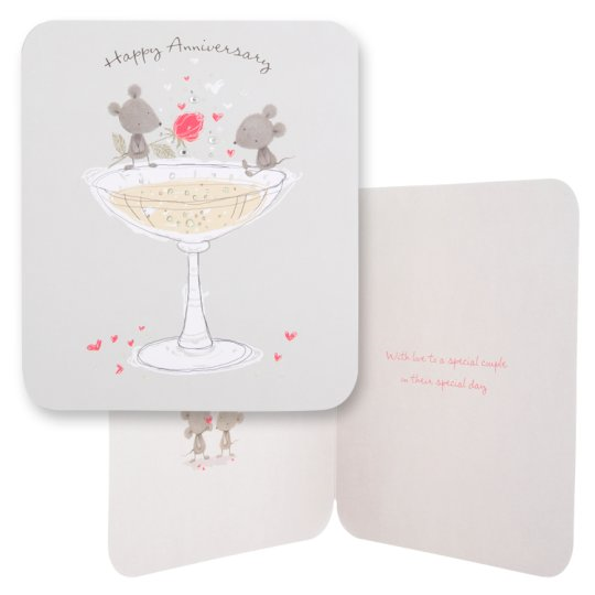 Tesco Anniversary Card Happy Anniversary