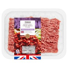 Tesco Turkey Thigh Mince 250G