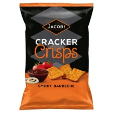 Jacobs Cracker Crisp Smokey Bbq 150 G