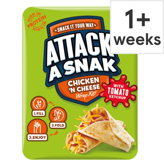Attack A Snak Chicken And Cheese Wrap 99G