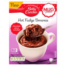 image 1 of Betty Crocker Fudge Brownie Mug Treat 2 Pack 160G