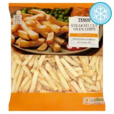 Tesco Straight Cut Oven Chips 1.5Kg