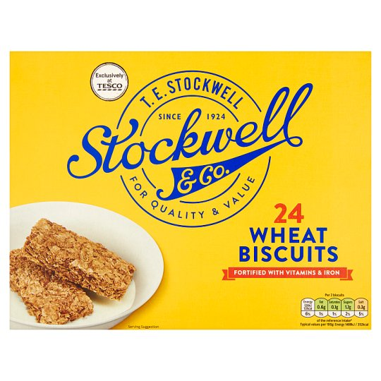 Stockwell And Co 24 Wheat Biscuits 432G