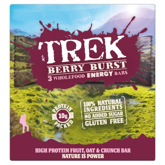 Trek Energy Berry Burst Multipack 3X55g