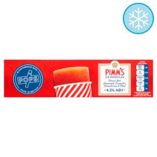 Pops Pimm's Ice Popsicles 2 X 80Ml