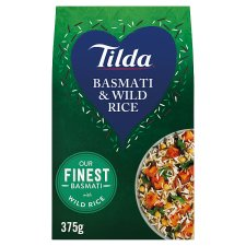 Tilda Basmati And Wild Rice 375G