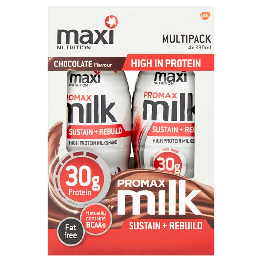 Maxi Nutrition Promax Ready To Drink Milk Chocolate 4X330ml