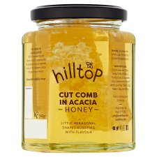 Hilltop Honey Cut Comb Honey 340G