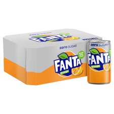 Fanta Orange Zero 12X150ml