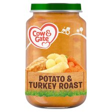Cow & Gate Potato And Turkey Roast 7Mth+ 200G Jar
