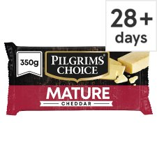 Pilgrims Choice Mature Cheddar Cheese 350 G