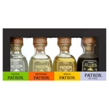 Patron Tequila Variety Gift Pack 5Clx4