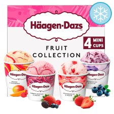 Haagen-Dazs Fruit Mini Cups Ice Cream 4X95ml