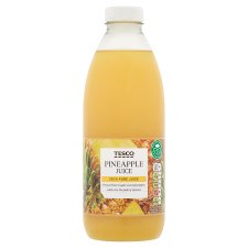 Tesco 100% Pure Pineapple Juice 1 Litre