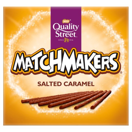 Quality Street Salted Caramel Matchmakers 120G