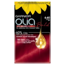 image 1 of Garnier Olia 6.6 Intense Red Permanent Hair Dye