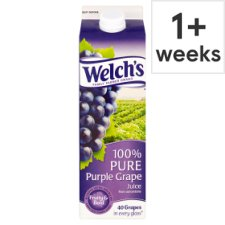 Welch's 100% Pure Purple Grape Juice 1 Litre
