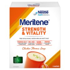 Meritene Active Nutrition Chicken Soup 4X50g