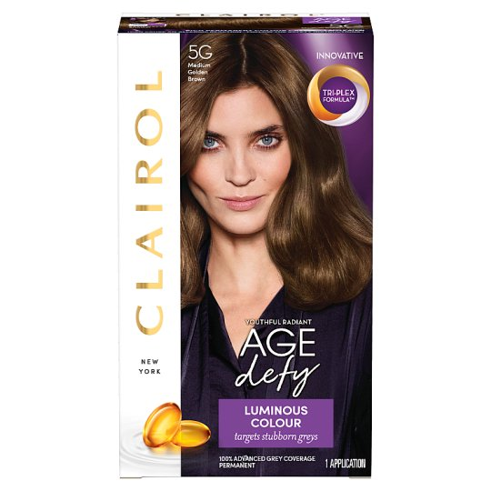 Nice 'N Easy Age Defying Permanent Medium Golden Brown 5G Hair Dye