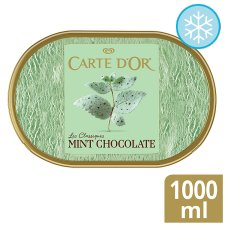 Carte D'or Mint Chocolate Ice Cream Dessert 1L
