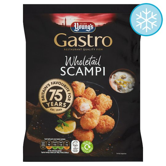 Youngs Whole Scampi 220G