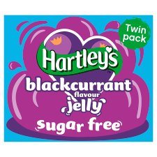 Hartleys Sugar Free Jelly Blackcurrant 23G