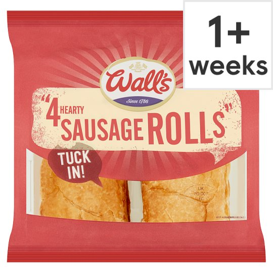 Walls 4 Hearty Sausage Rolls 220G