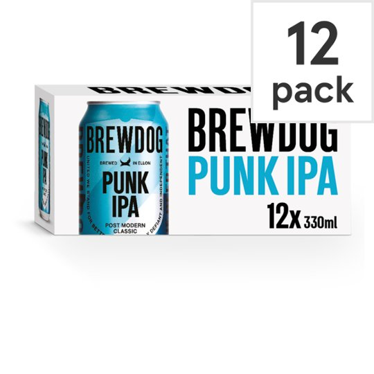 Punk Ipa Indian Pale Ale Pack 12X330ml