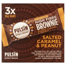 Pulsin Salted Caramel Brownie 3X35g