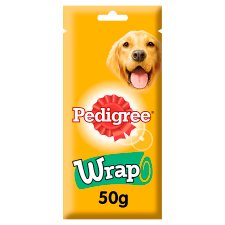 Pedigree Wrap Dog Treat 50G