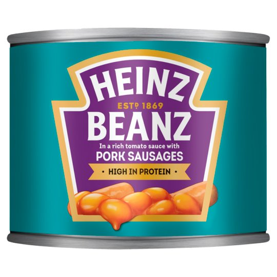 Heinz Baked Beans And Pork Sausages 200G