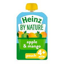 Heinz Fruit Pouch Apple Mango 100G